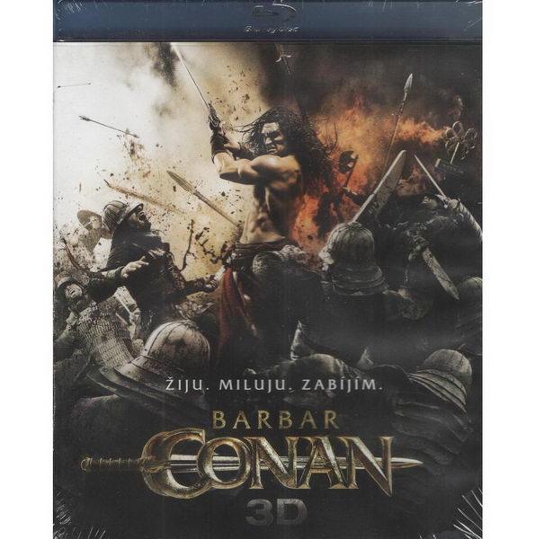 Barbar Conan 3D - BD