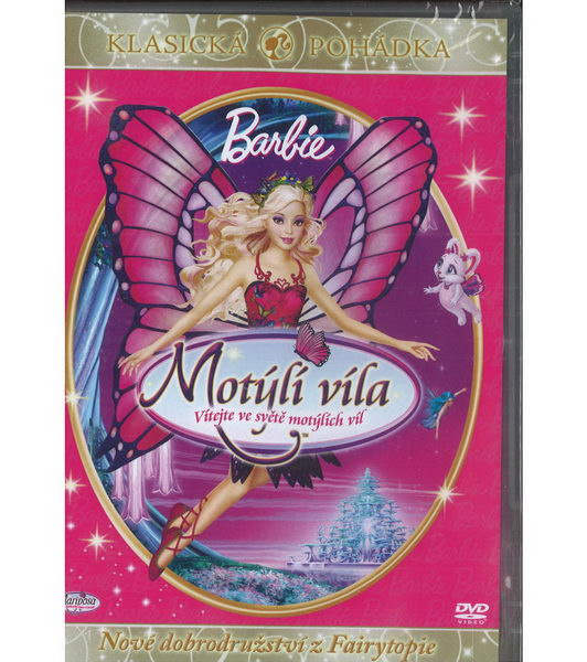 Barbie Motýlí víla - DVD