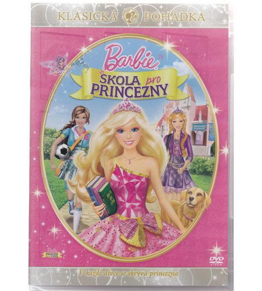 Barbie a Škola pro princezny - DVD