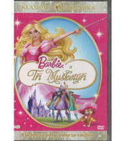 Barbie a Tři mušketýři - DVD