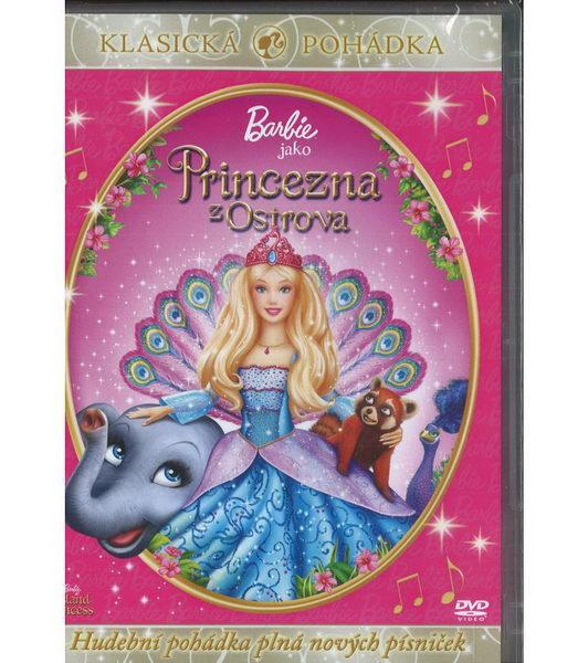 Barbie jako Princezna z ostrova - DVD plast