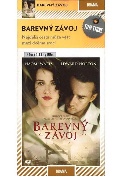 Barevný závoj - DVD pošetka