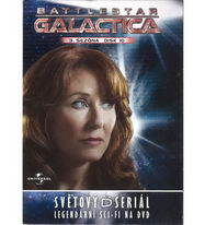 Battlestar Galactica - disk 10 - 3. sezóna, epizody 19-20 - DVD