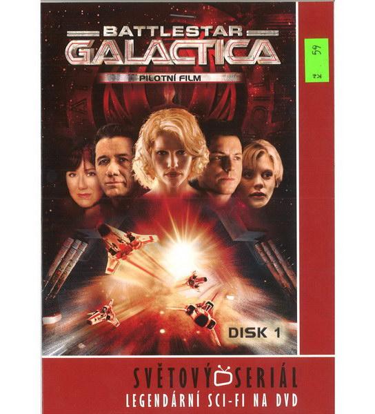 Battlestar Galactica - pilotní film - DVD
