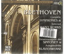 Beethoven - Complete symphonies and Selected piano works - CD