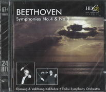 Beethoven - Symphonies no. 4 a no. 5 - CD