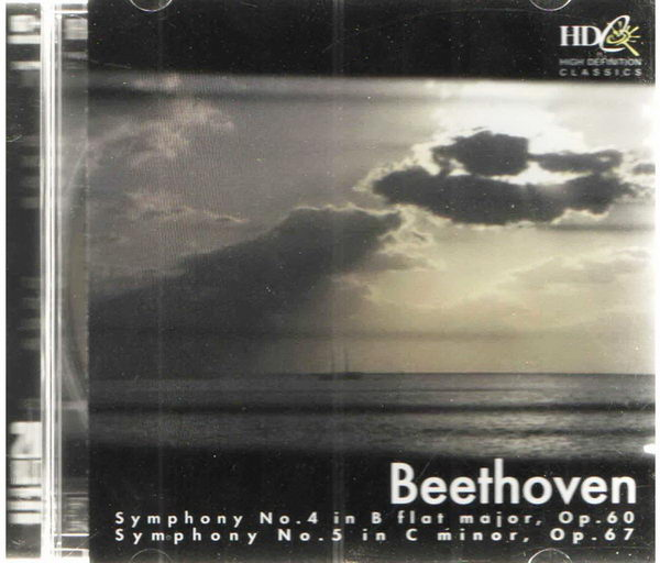 Beethoven - Symphony No. 4 in B flat major, Op. 60, Symphony No. 5 in C minor, Op. 67 - CD