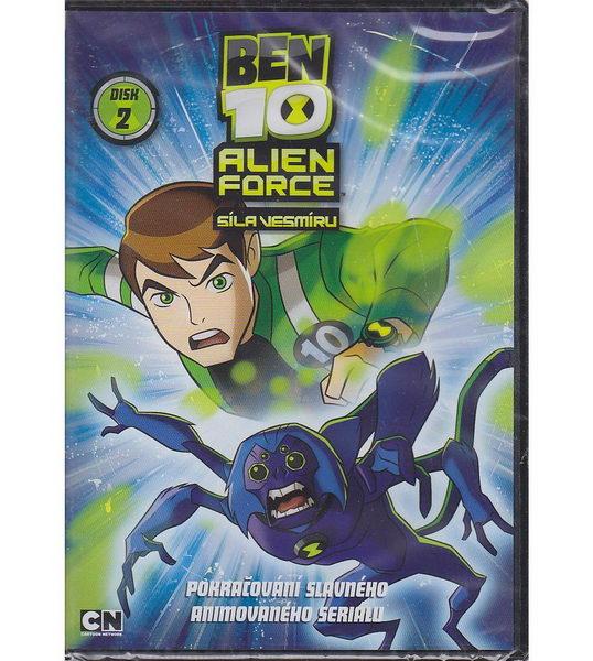 Ben 10: Alien Force 2. DVD