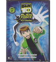 Ben 10: Alien Force 3. DVD