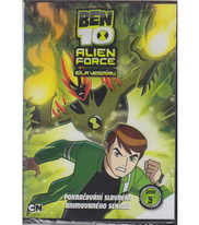 Ben 10: Alien Force 5. DVD