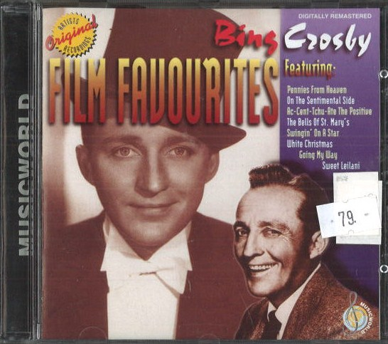Bing Crosby - film favourites - CD