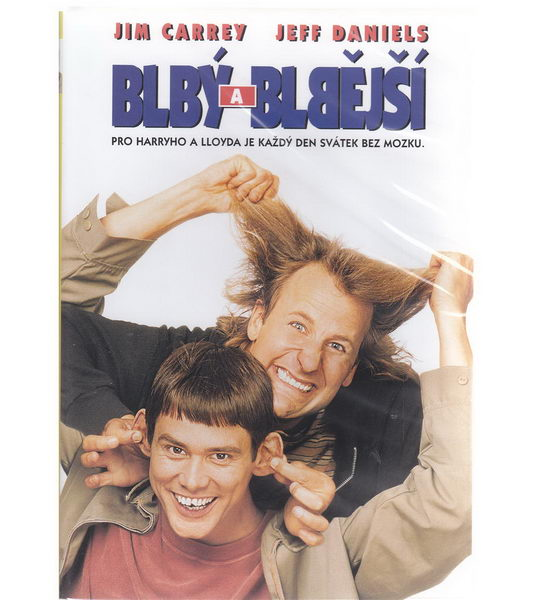 Blbý a blbější - DVD