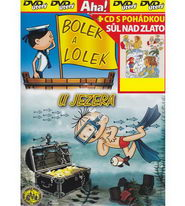 Bolek a Lolek - U jezera + CD s pohádkou Sůl nad zlato - DVD