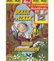 Bolek a Lolek - Úžasná dobrodružství + CD s pohádkou Tři zlaté vlasy... - DVD