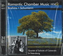 Brahms & Schumann - Romantic Chamber Music - CD