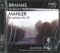 Brahms - Symphony no. 2 / Mahler - Symphony no. 10 - CD