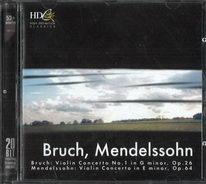 Bruch, Mendelssohn - CD
