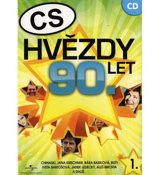 CS Hvězdy 90. let - CD