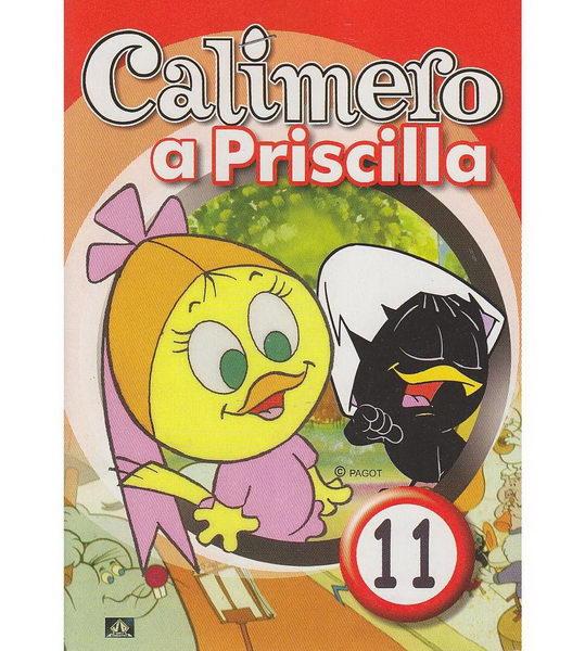 Calimero a Priscilla 11 - DVD