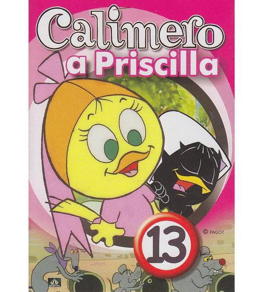Calimero a Priscilla 13 - DVD