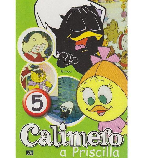 Calimero a Priscilla 5 - DVD