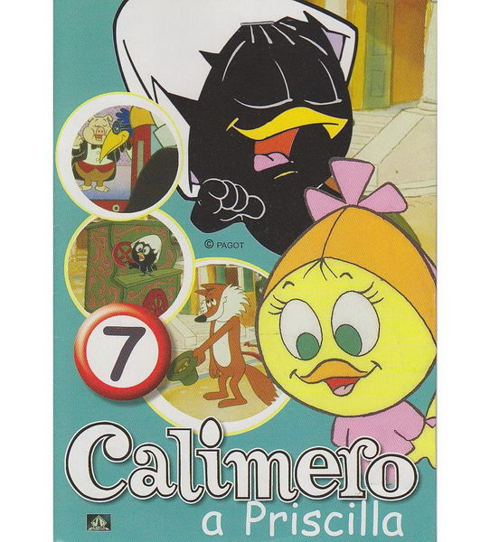 Calimero a Priscilla 7 - DVD
