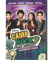 Camp Rock 2: Velký koncert - DVD