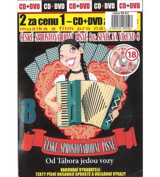 České sprostonárodní písně a Sexík na víkend 08 - DVD