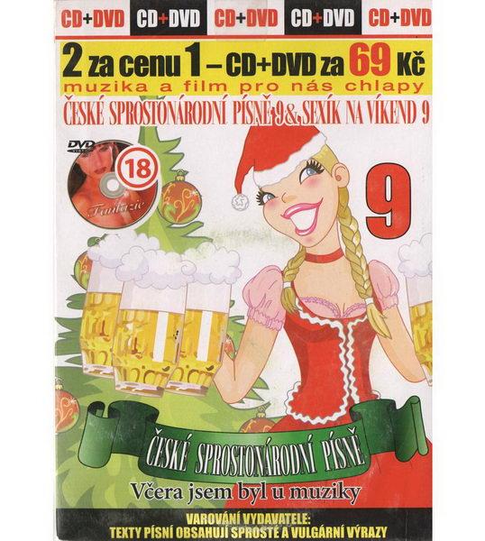 České sprostonárodní písně a Sexík na víkend 09 - DVD