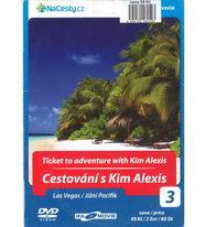 Cestování s Kim Alexis 3: Las Vegas / Jižní Pacifik - DVD