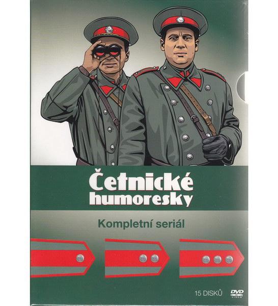 Četnické humoresky - kompletní seriál 15DVD