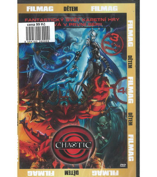 Chaotic 4 - DVD