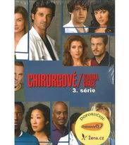 Chirurgové / Klinika Grace - kompletní 3.série - DVD