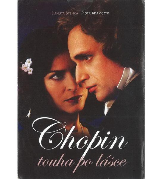 Chopin: Touha po lásce - DVD pošetka