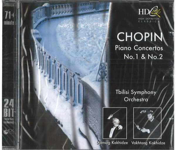 Chopin - piano concertos no. 1 / no. 2 - CD