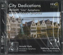 City dedications - Mozart - Linz / Haydn - Oxford - CD