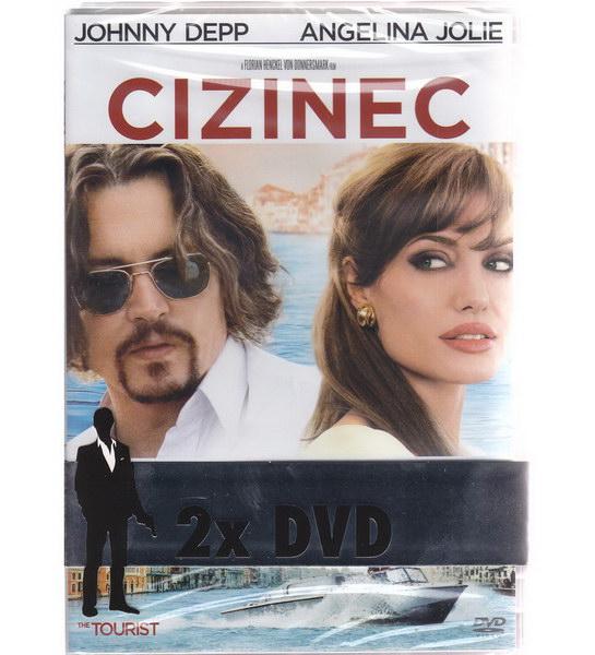 Cizinec (Depp + Jolie) + Legie (Bettany) - DVD