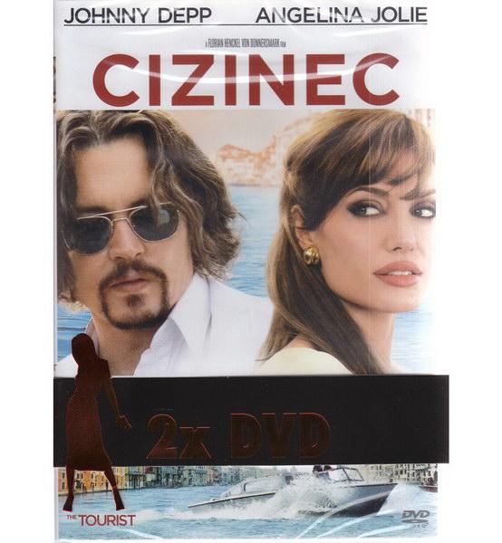 Cizinec (Depp + Jolie) + Salt (Jolie) - DVD