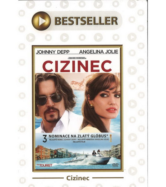 Cizinec (Johnny Depp) - DVD (Tourist, The)