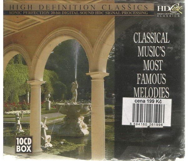 Classical music's most famous melodies - 10 CD