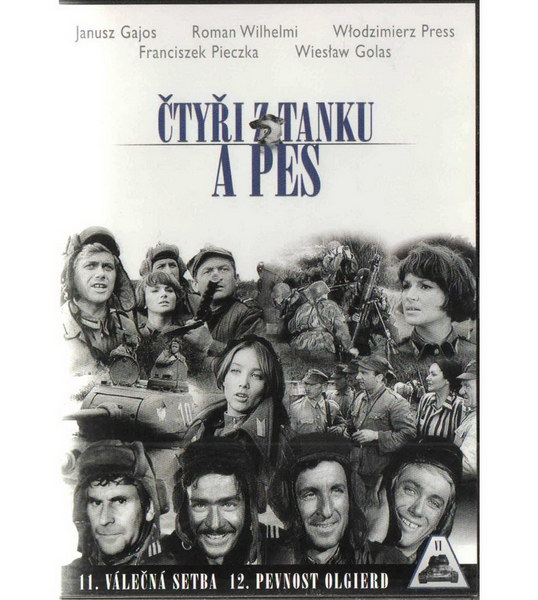 Čtyři z tanku a pes 06. DVD - díl 11. a 12. ( plast ) DVD