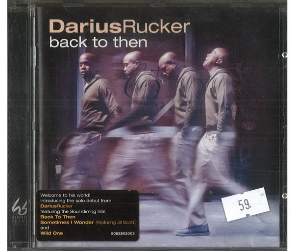 Darius Rucker - Back to then - CD