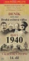 Deník 1939 - 1945 - Druhá světová válka (14. díl) - říjen 1940 - DVD