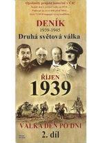 Deník - Druhá světová válka díl.2 - Říjen 1939 -  pošetka DVD