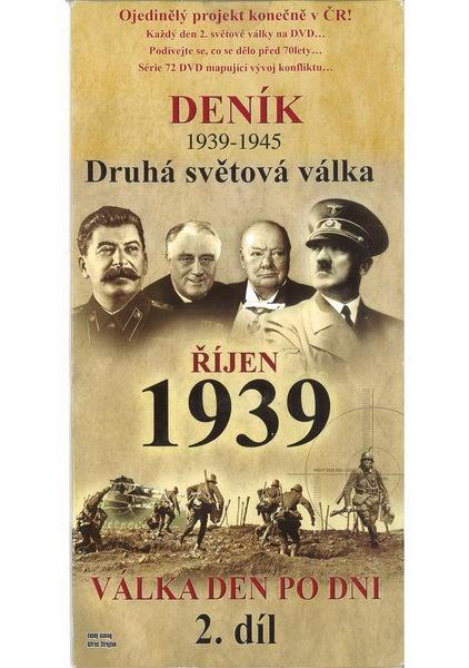 Deník - Druhá světová válka díl.2 - Říjen 1939 - DVD