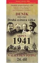 Deník - Druhá světová válka díl.24 - Srpen 1941 - DVD