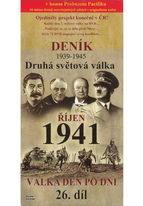 Deník - Druhá světová válka díl.26 - Říjen 1941 - DVD