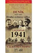 Deník - Druhá světová válka díl.27 - Listopad 1941 - DVD