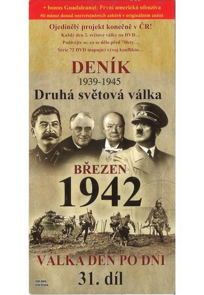 Deník - Druhá světová válka díl.31 - Březen 1942 - DVD