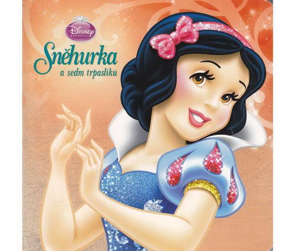 Disney princezna - Sněhurka a sedm trpaslíků - leporelo